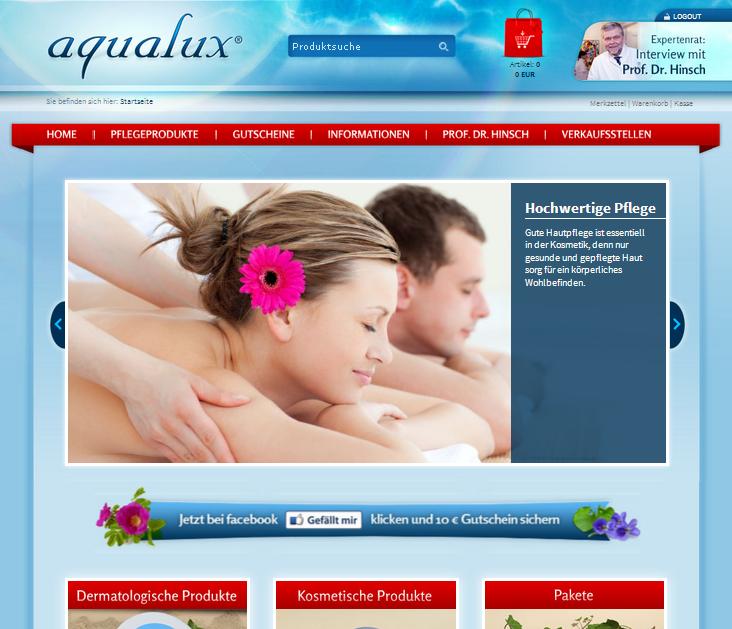 aqualux-kosmetik.de Gutschein