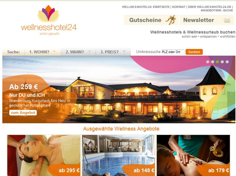 wellnesshotel24.de Gutschein