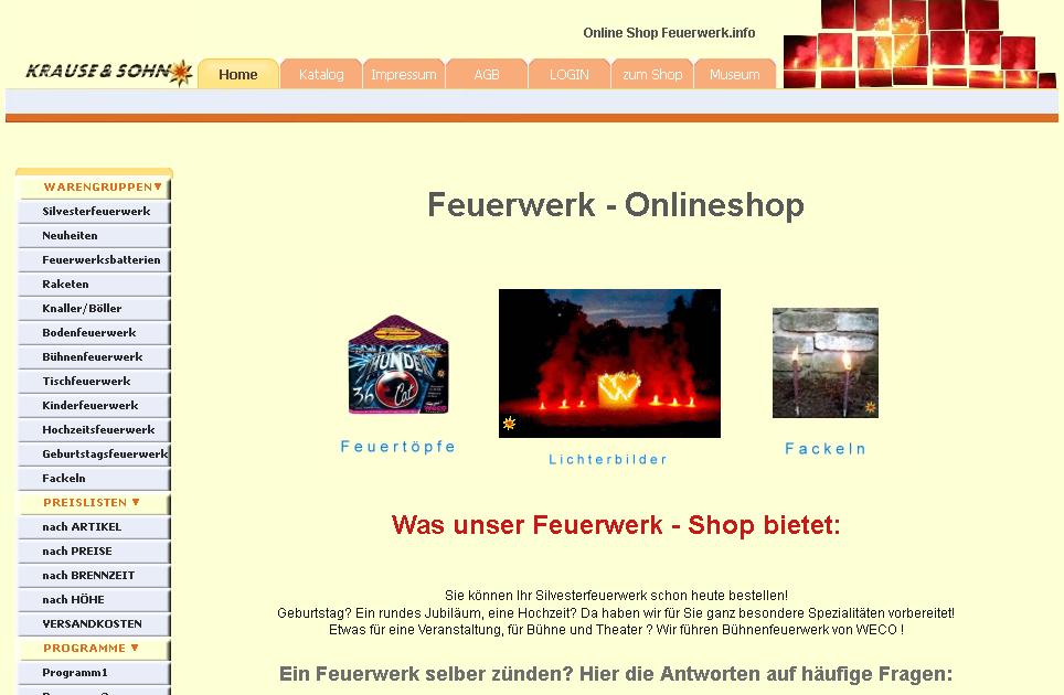 Feuerwerk.info Gutschein