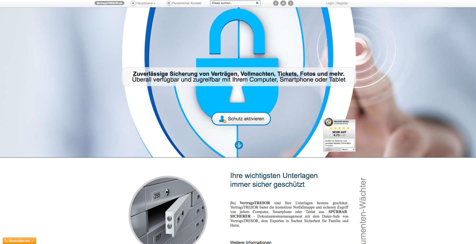 VertragsTRESOR.de Gutschein
