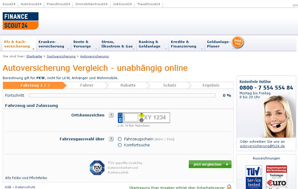 FinanceScout24 Gutschein