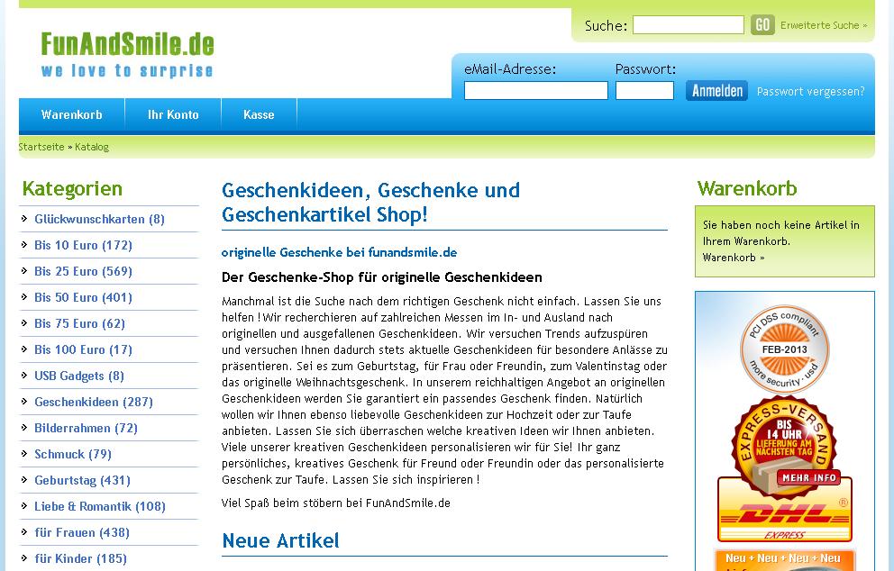 Fun & Smile Gutschein