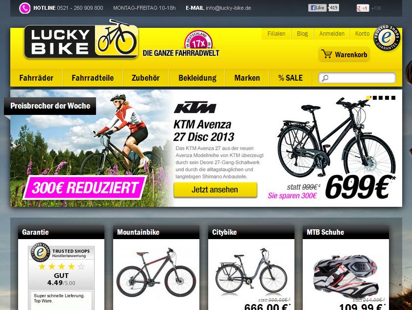 Lucky Bike Gutschein