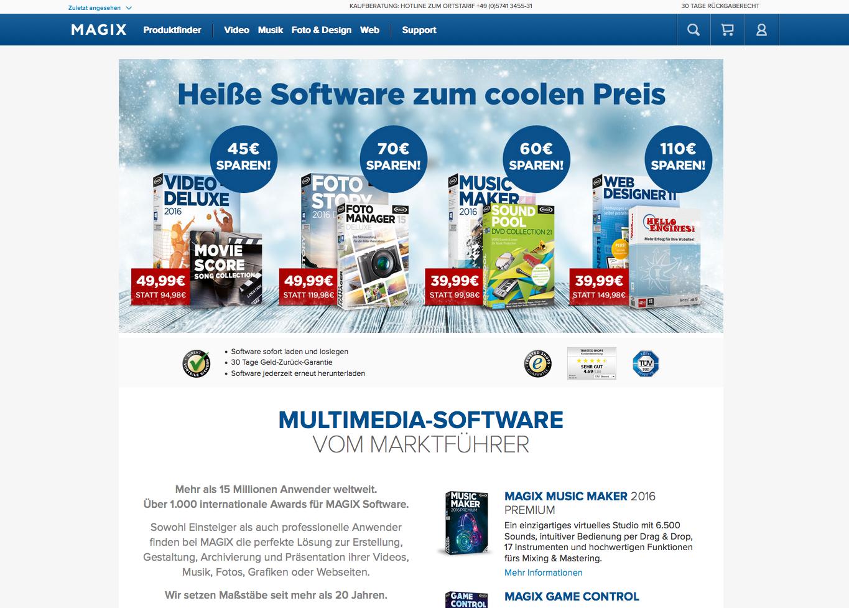 Magix Software Gutschein