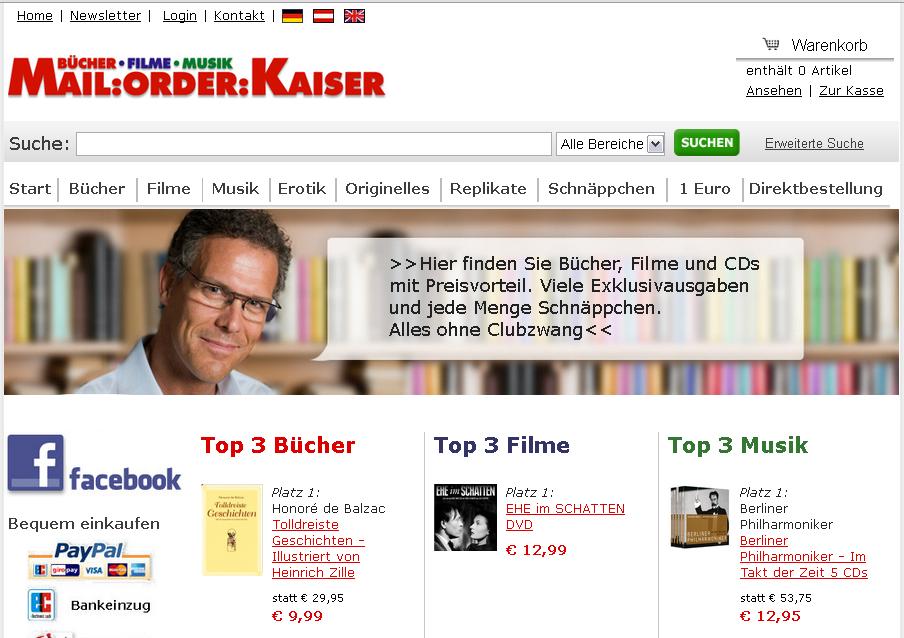 Mail Order Kaiser Gutschein