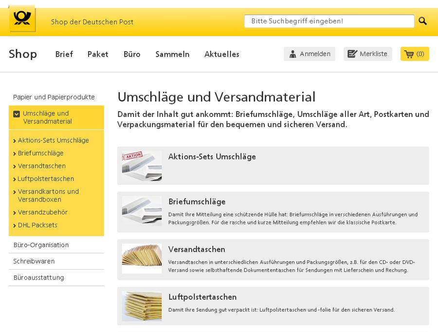 Deutsche Post eFiliale Gutschein