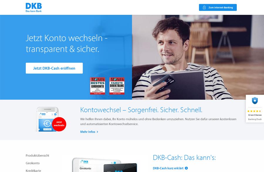DKB-Cash Konto Gutschein