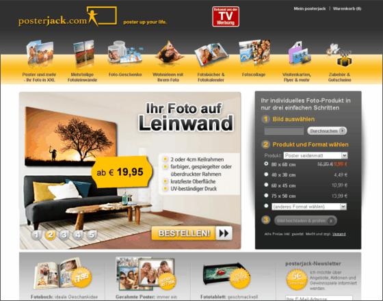Posterjack.com Gutschein