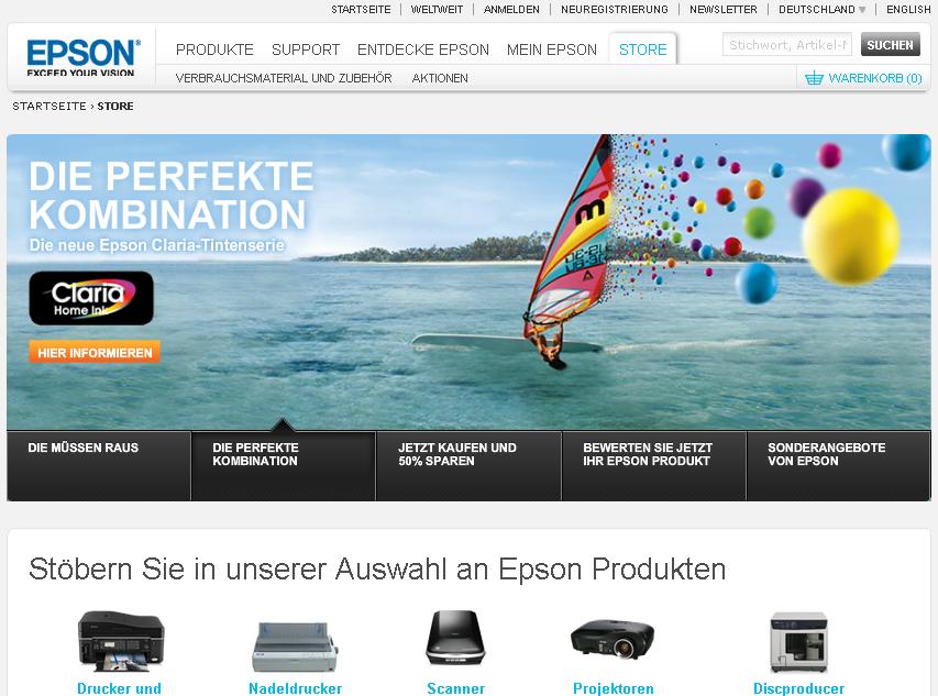 Epson Gutschein