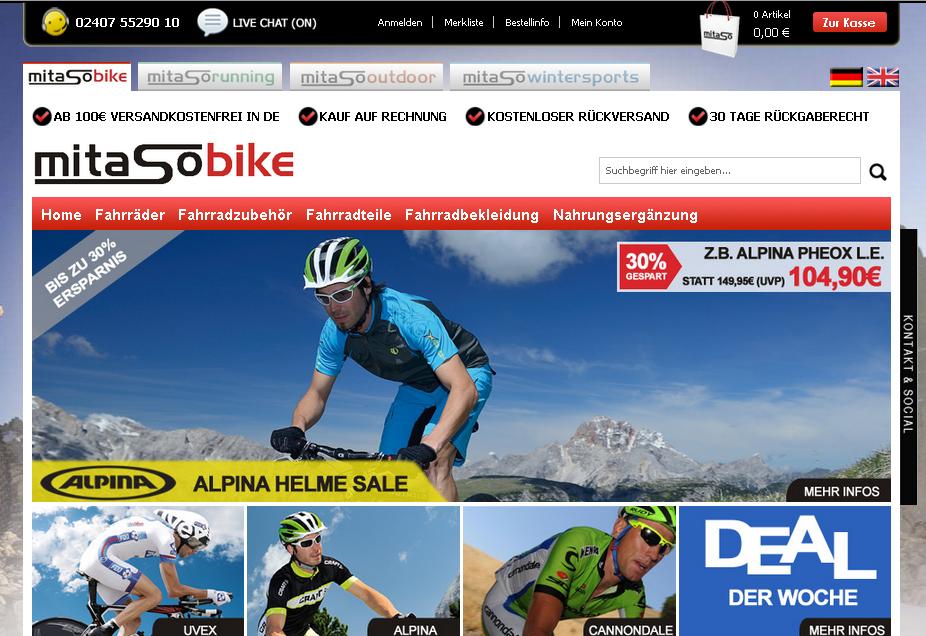 Mitaso-Bike Gutschein