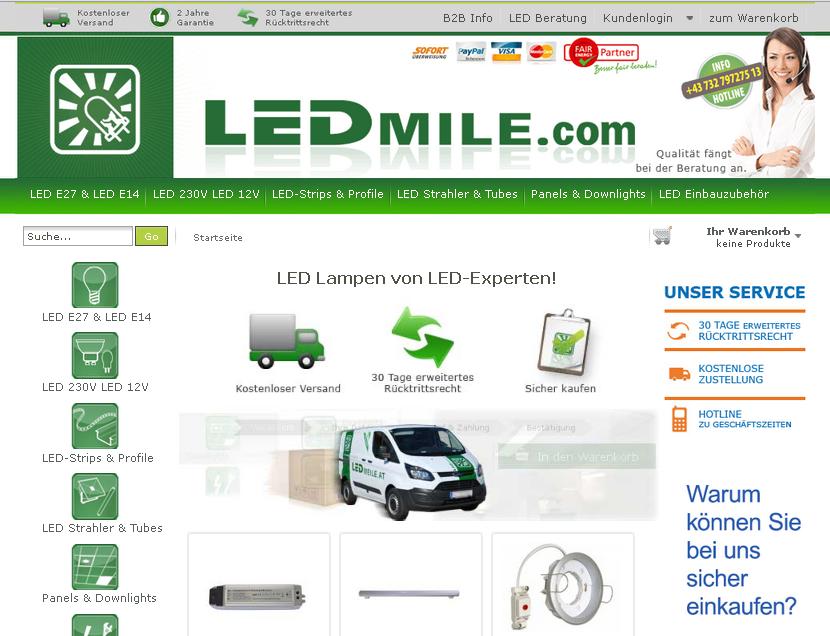LEDmile.com Gutschein