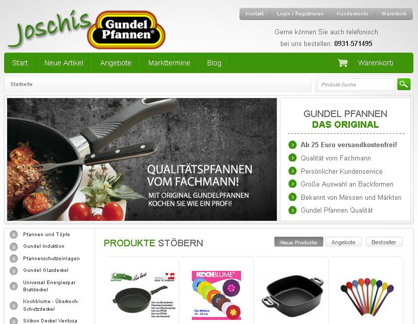 pfannen-joschi.de Gutschein