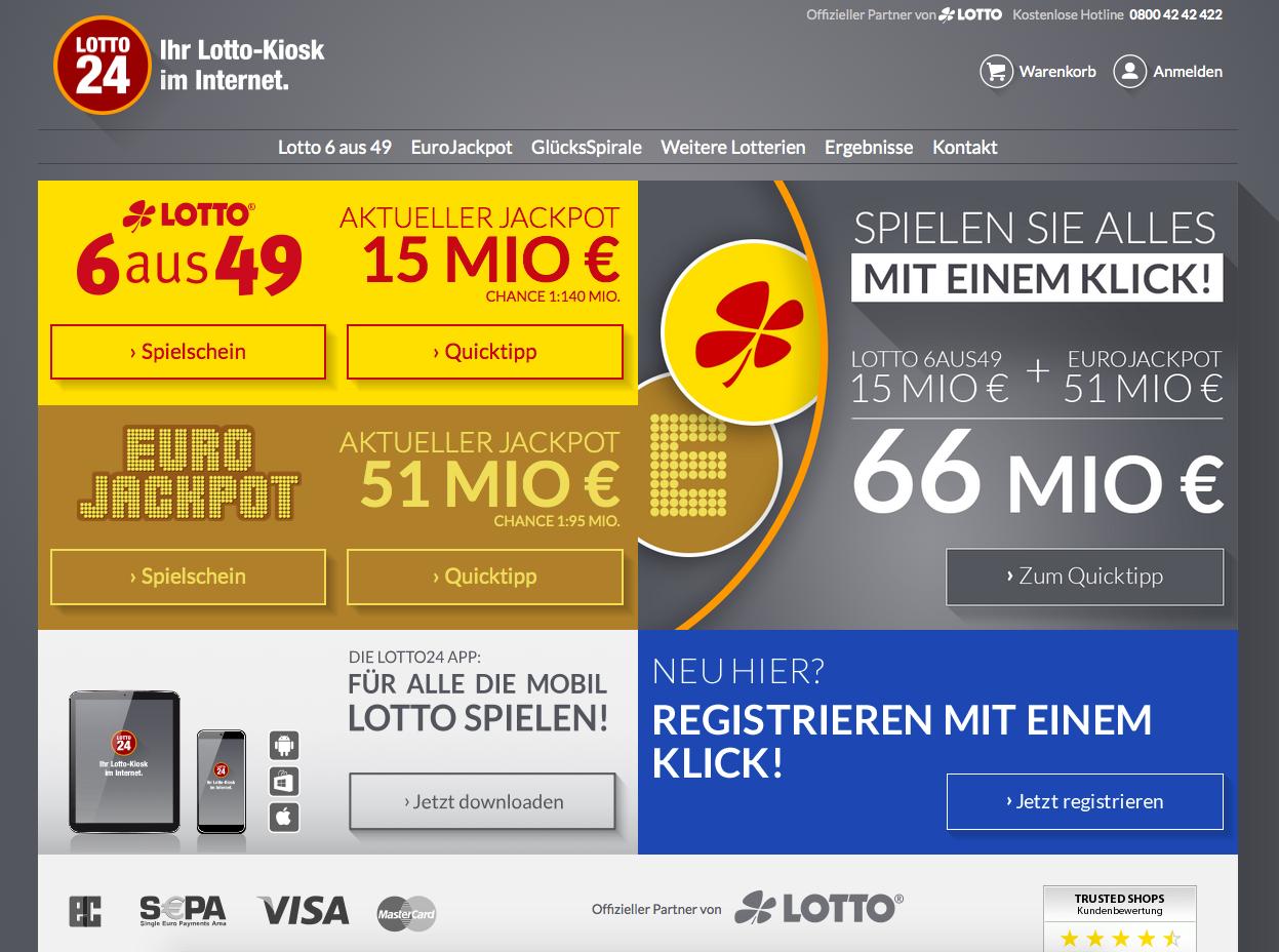 Lotto24.de Gutschein