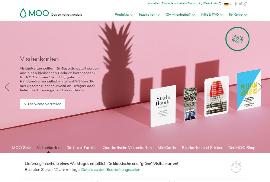moo.com Gutschein