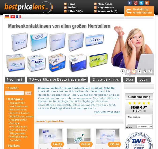 BestPriceLens.de Gutschein