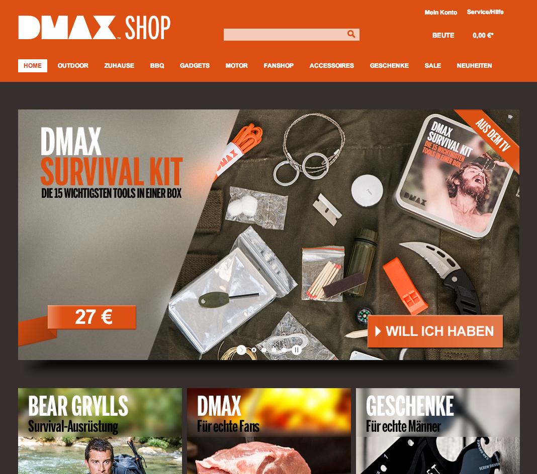 DMAX-Shop Gutschein