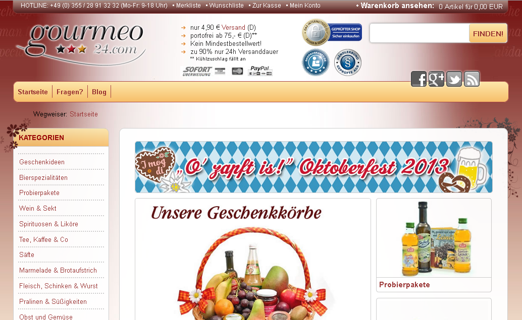 gourmeo24 Gutschein