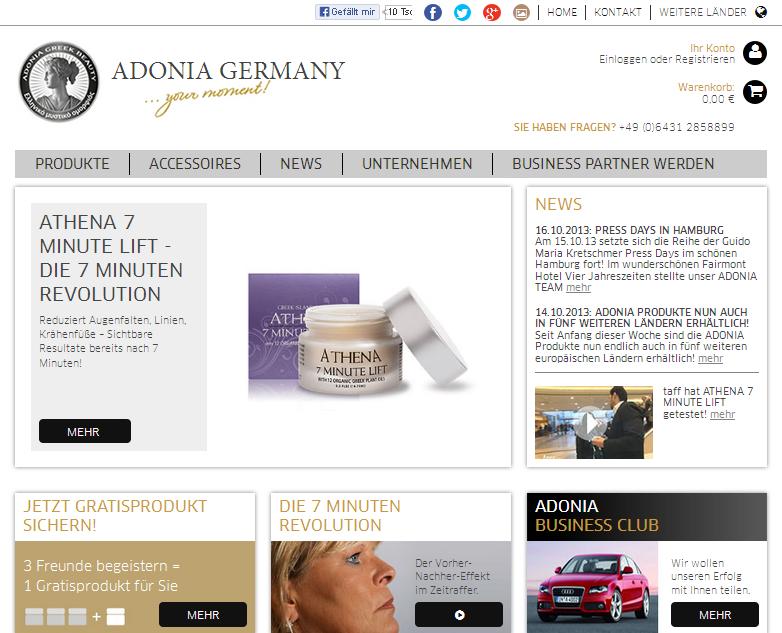 Adonia Germany Gutschein