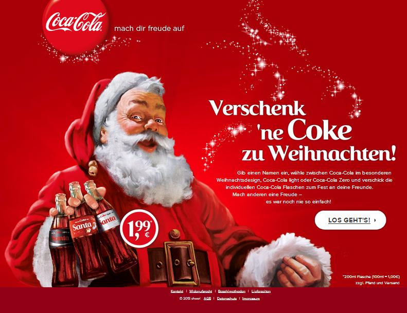 Coca-Cola meineCoke Gutschein
