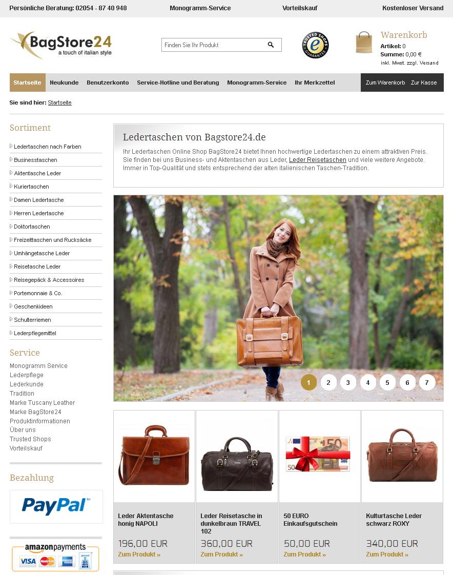 BagStore24 Gutschein