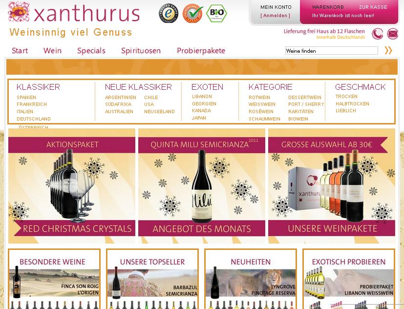 xanthurus Gutschein