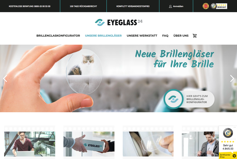 Eyeglass24 Gutschein