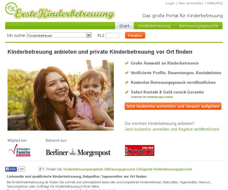 ErsteKinderbetreuung.de Gutschein