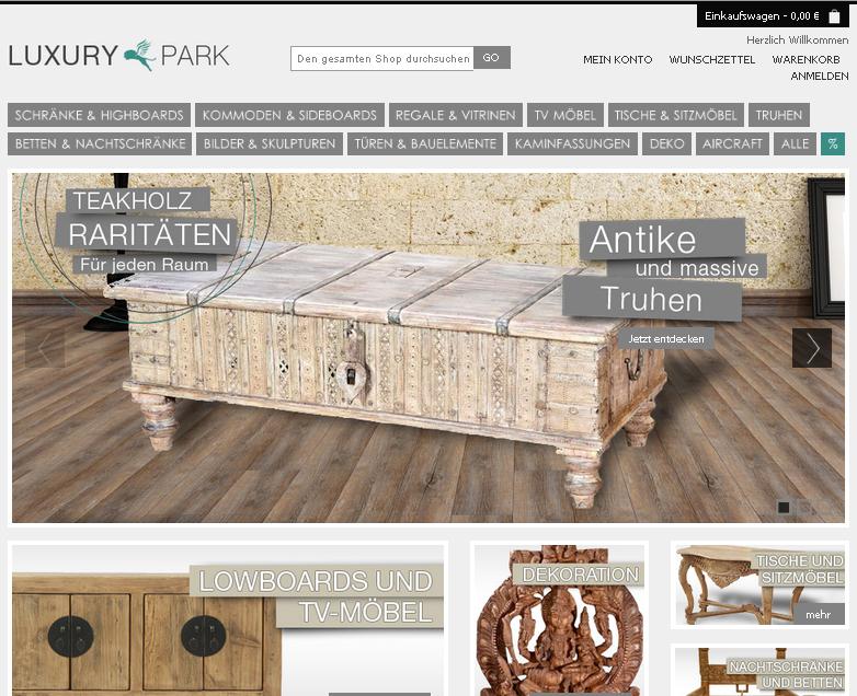 Luxury-Park Gutschein
