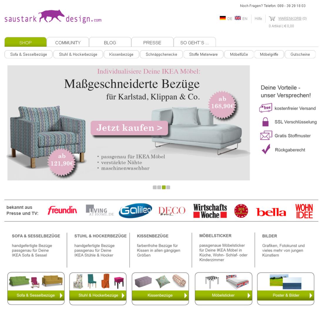 saustarkdesign.com Gutschein