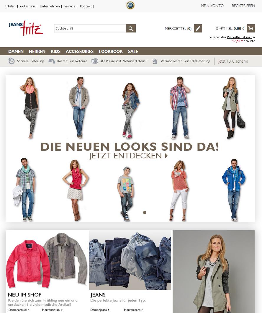 Jeans-Fritz.de Gutschein