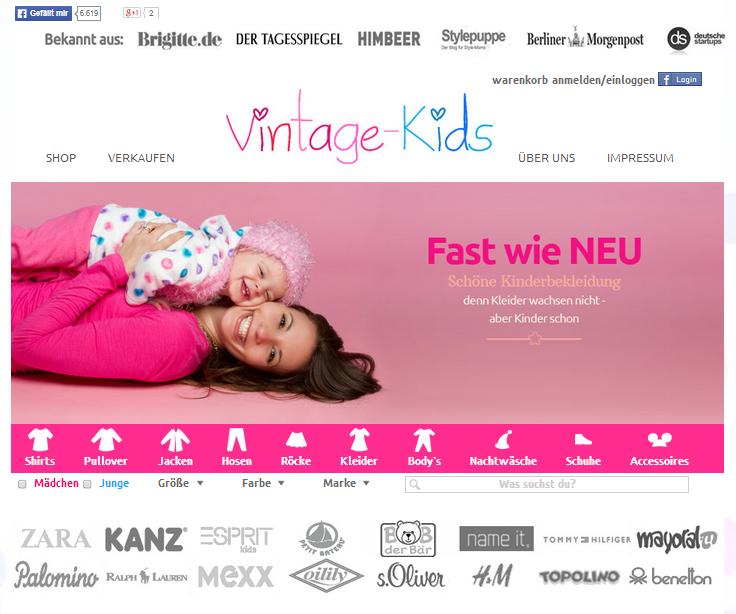 Vintage-Kids Gutschein