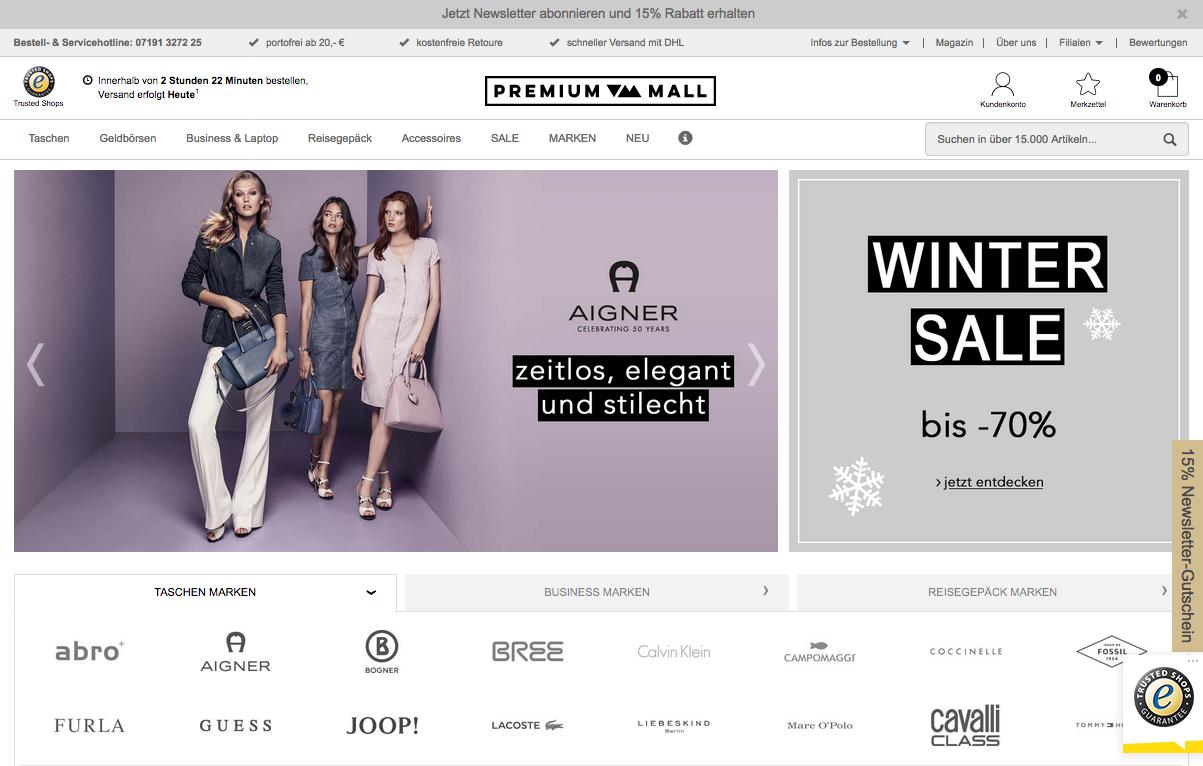 Premium-Mall.com Gutschein