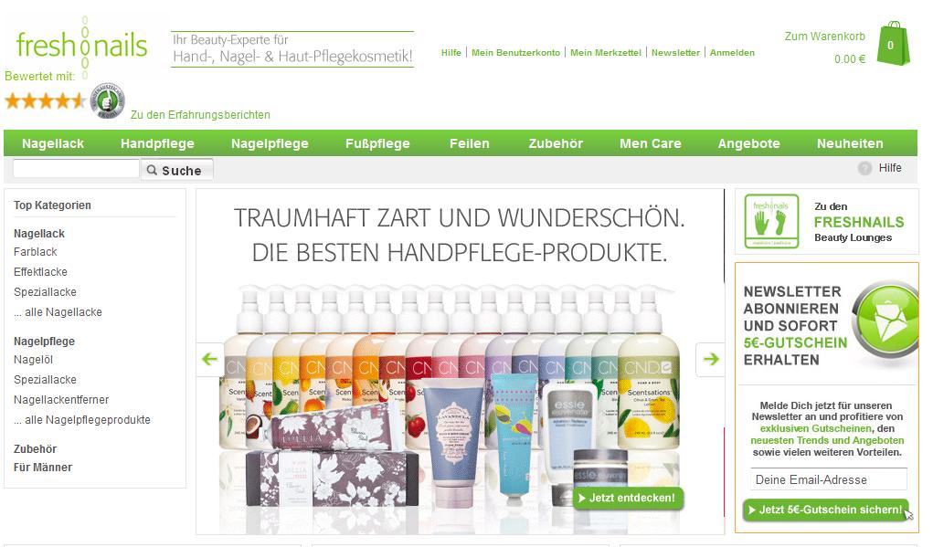Freshnails.de Gutschein