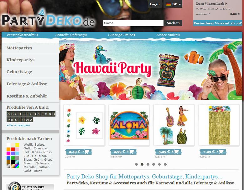 PartyDeko.de Gutschein