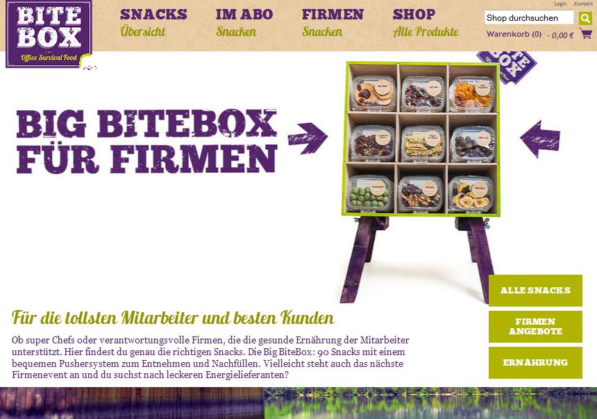 BiteBox Gutschein