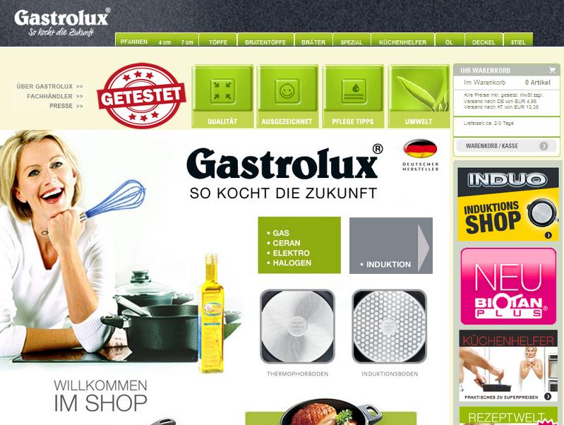Gastrolux Gutschein
