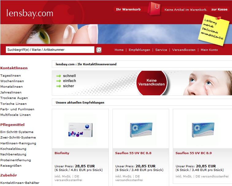 lensbay.com Gutschein