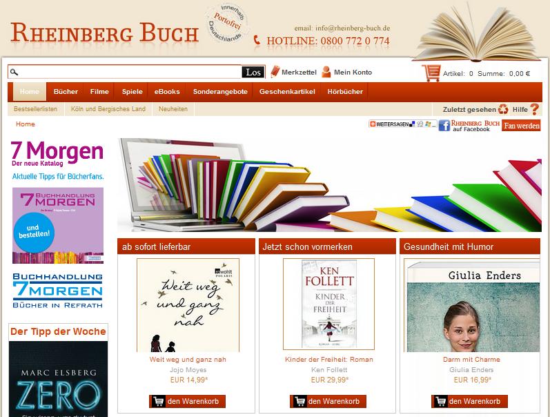 Rheinberg Buch Gutschein