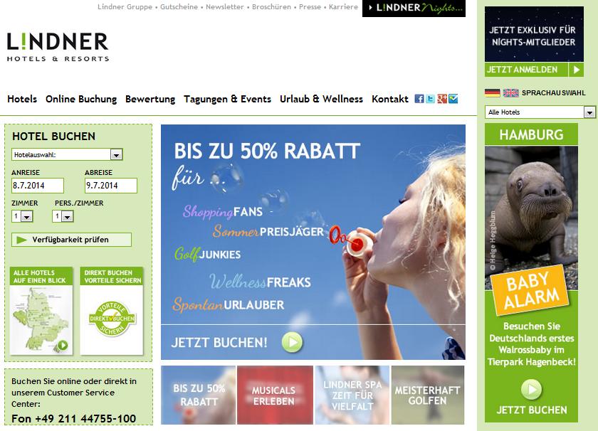 Lindner Hotels & Resorts Gutschein