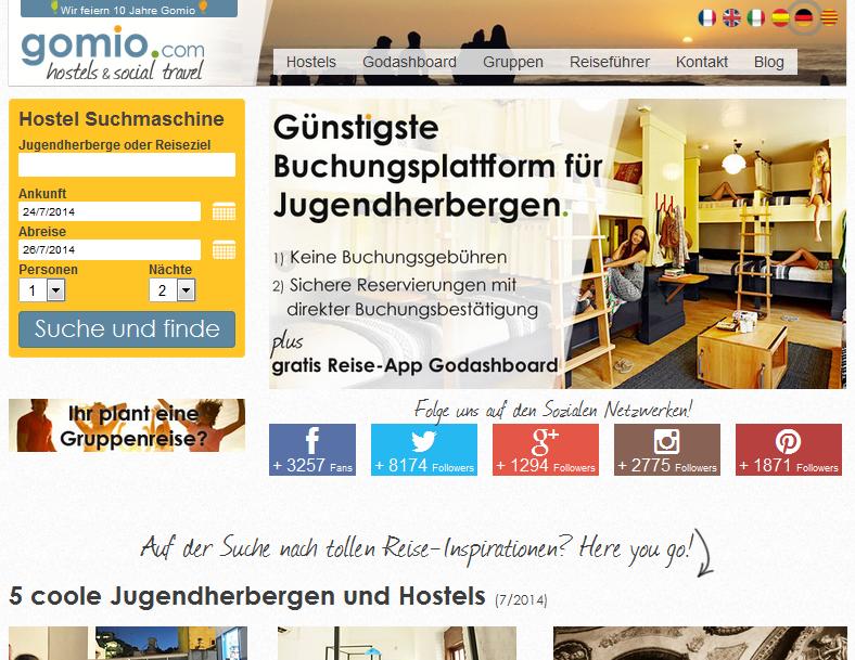 Gomio.com Gutschein