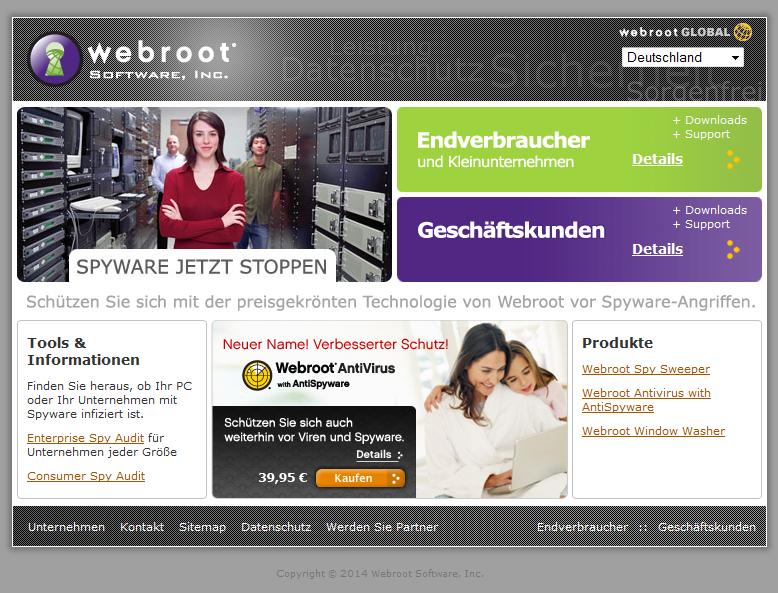 Webroot DE Gutschein