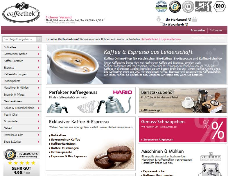 Coffeethek Gutschein