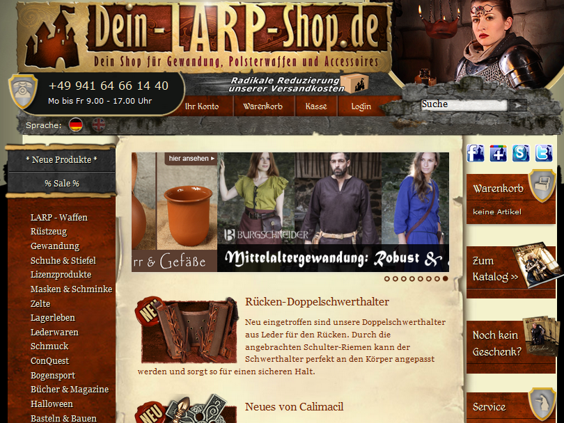 Dein-LARP-Shop.de Gutschein