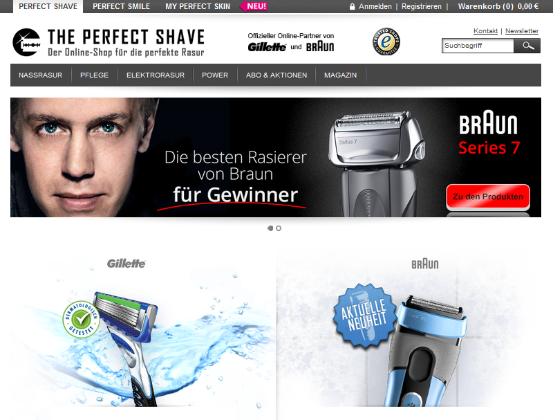 The Perfect Shave Gutschein