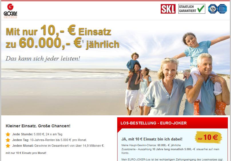 SKL EURO-JOKER Gutschein