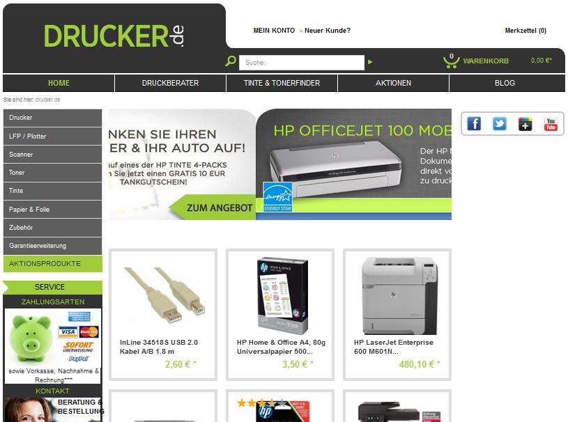 Drucker.de Gutschein