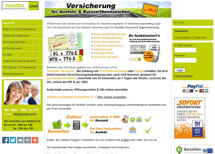 nondos.com Gutschein