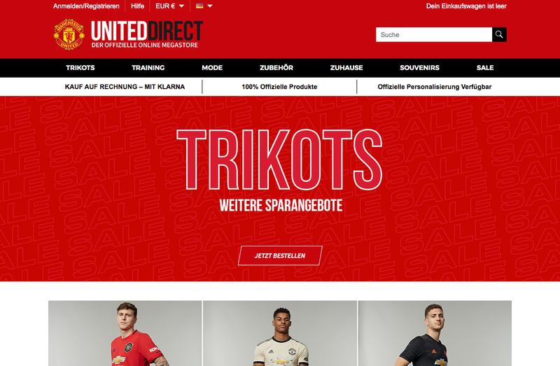 Manchester United Store Gutschein