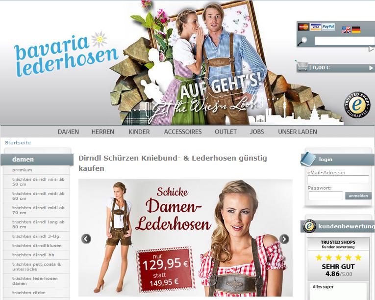 Bavaria-Lederhosen.com Gutschein