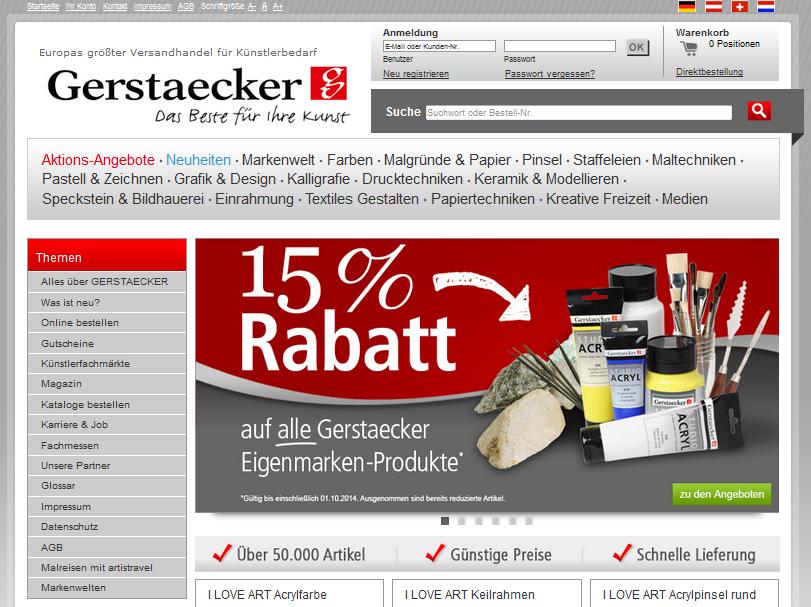 Gerstaecker.de Gutschein